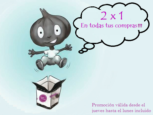 Promo Black Friday en tienda online de Salsas JR